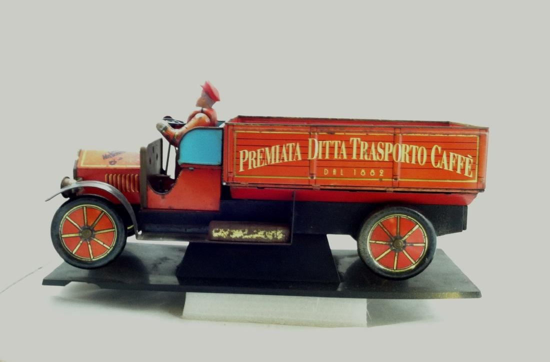 Tin Litho'd Delivery Truck Advertising - 9