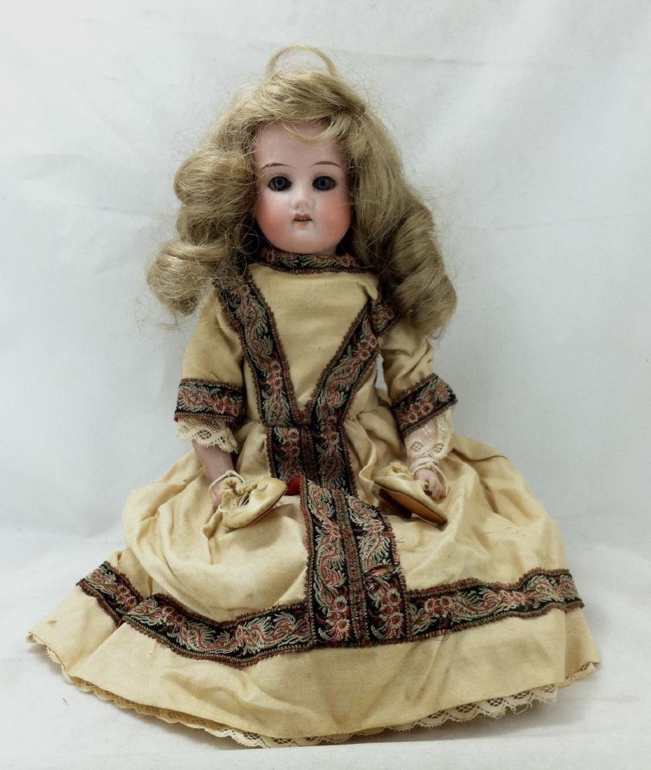 "Antique German Bisque Doll ""Lissy"" - 10"