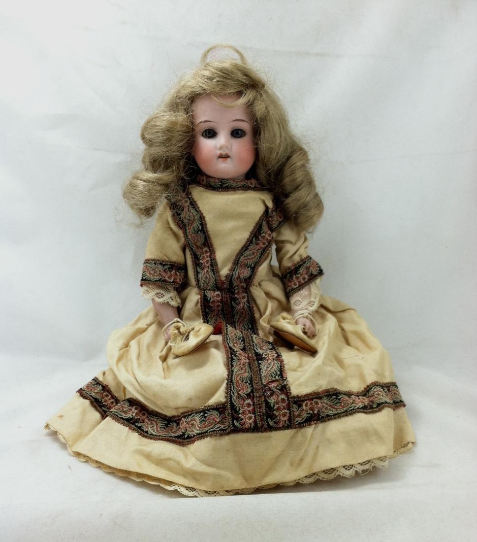 "Antique German Bisque Doll ""Lissy"" - 9"