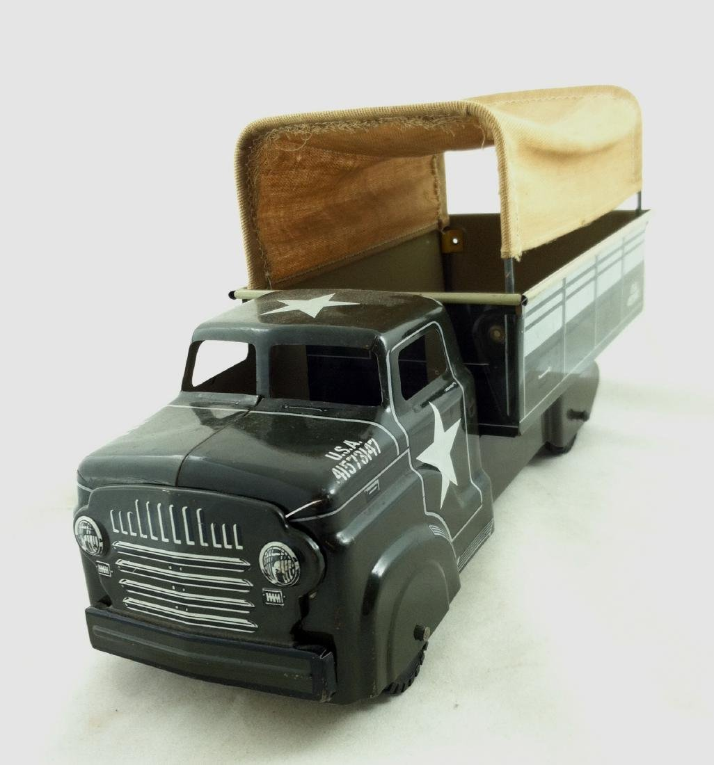 Vtg. Army Transport Truck by Marx A Good One - 6