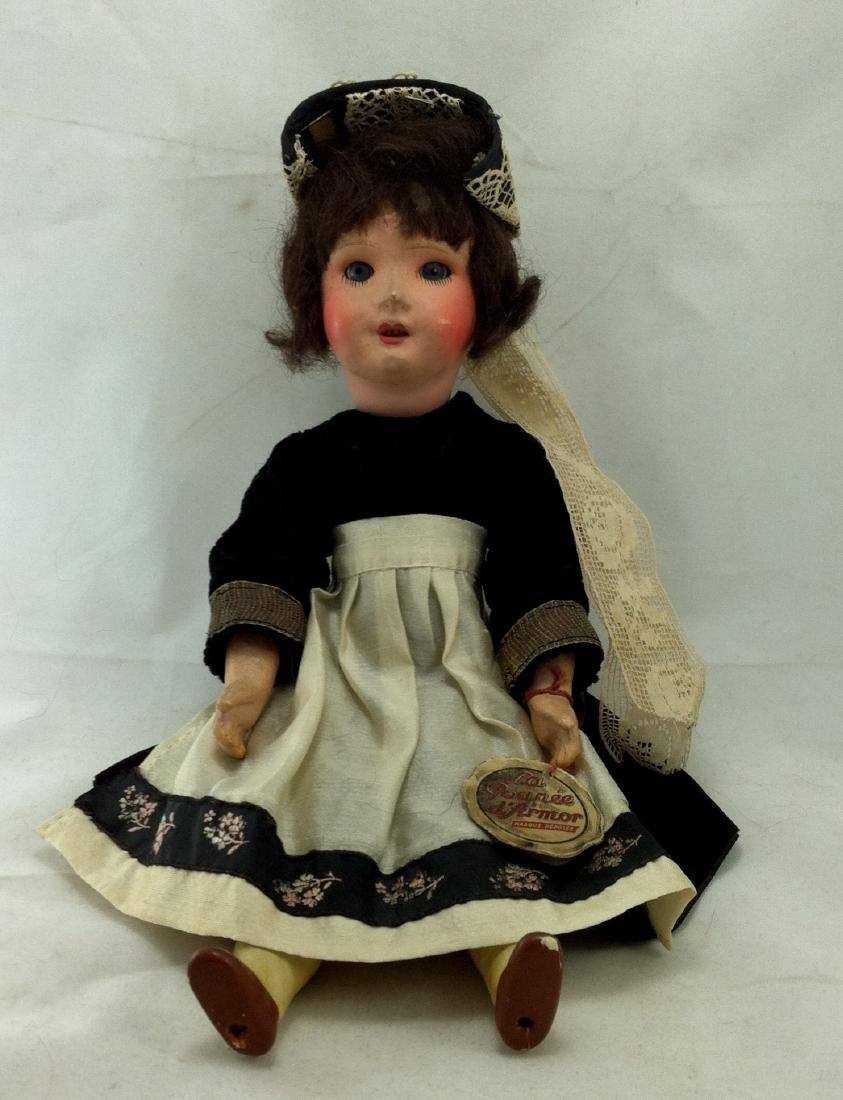 La Poupee Doll No. 12 Orig. Clothes