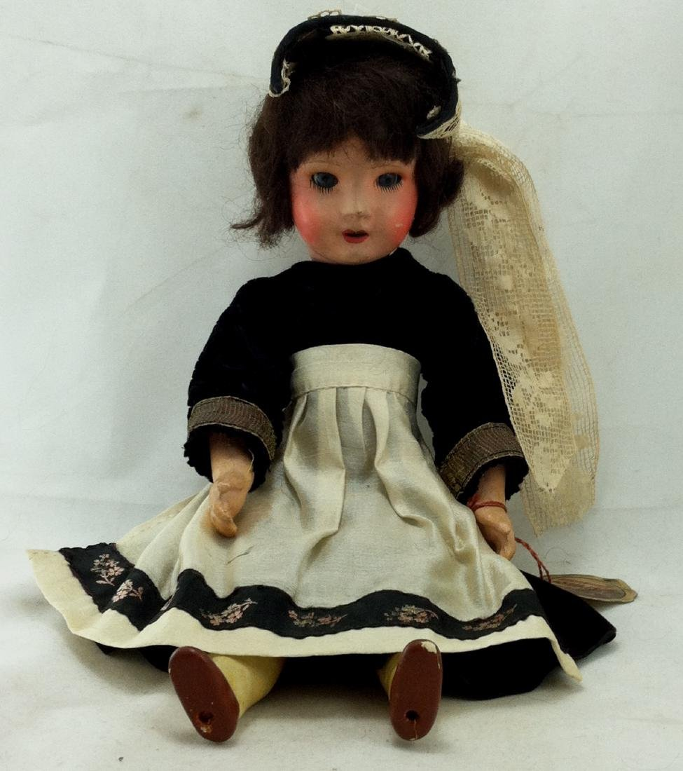 La Poupee Doll No. 12 Orig. Clothes - 8