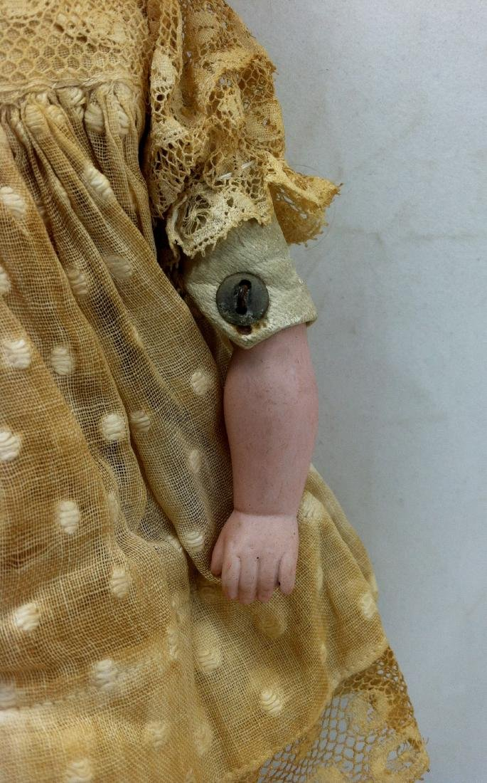 Antique Bisque Head/Kid Body Doll ' Almy ' - 3