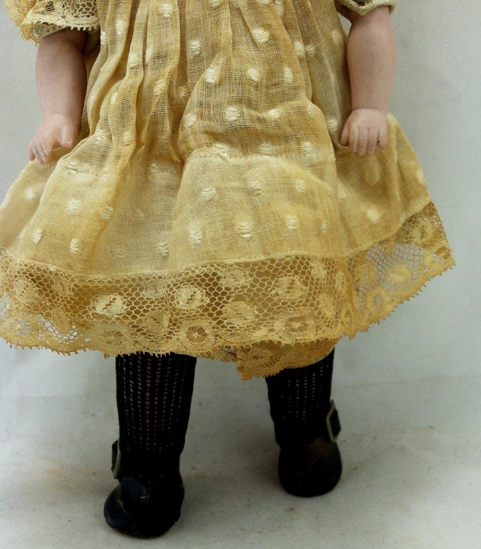 Antique Bisque Head/Kid Body Doll ' Almy ' - 4