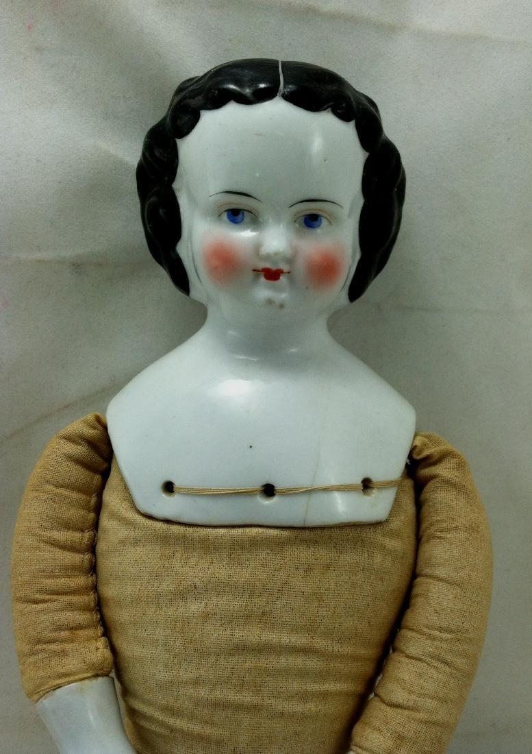 "Large 18+"" China Head Doll - 9"