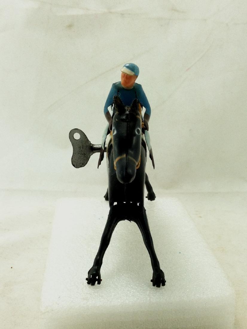 Wind up Toy. Horse & Jockey - 3