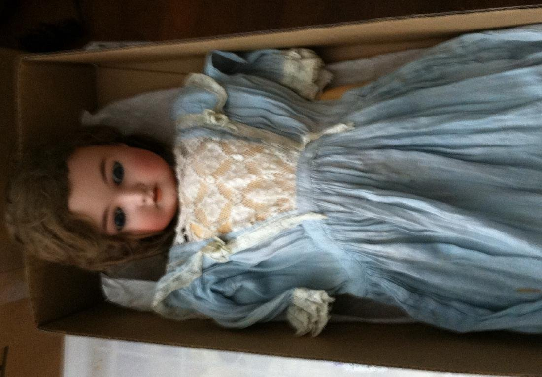 "24"" Bisque Head Queen Louise Doll - 8"