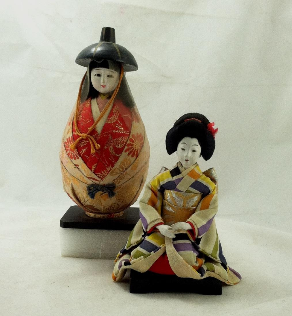 2 Japanese Costume Character Dolls - 10