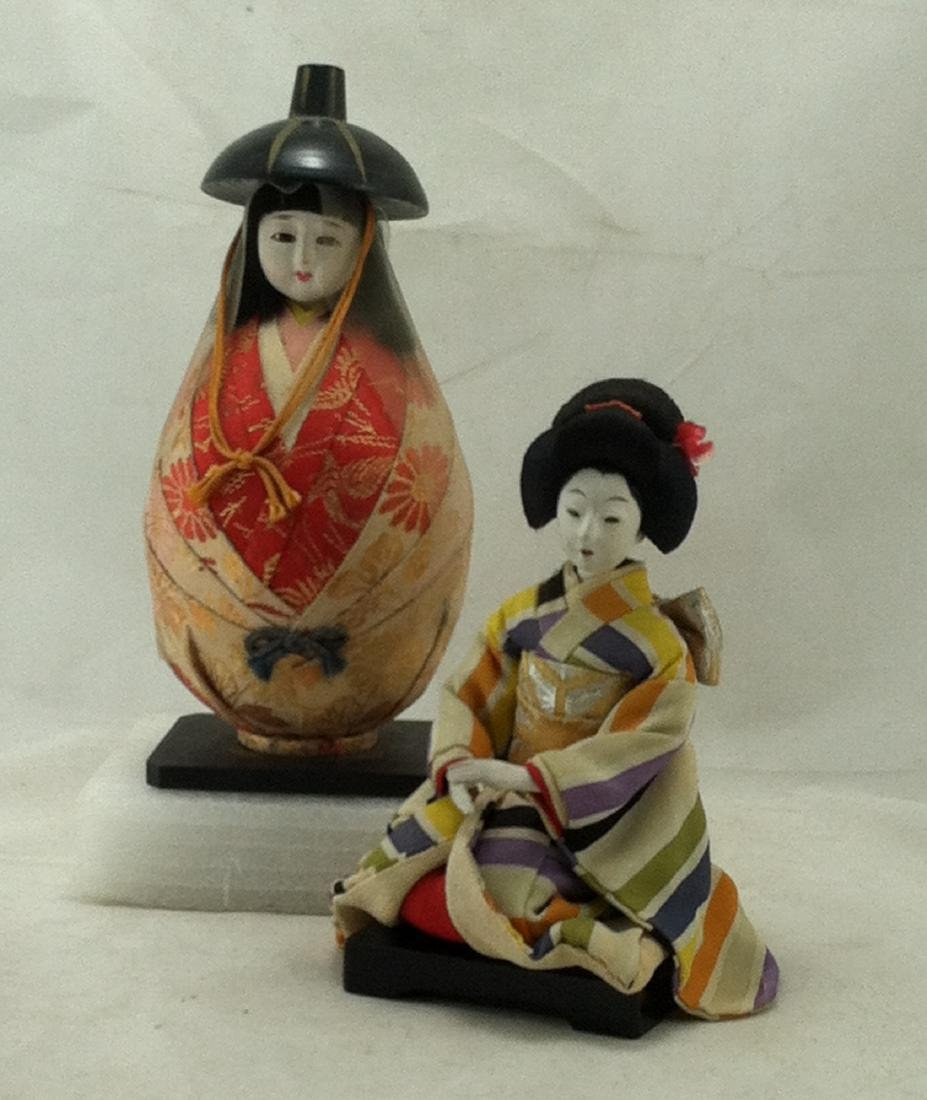 2 Japanese Costume Character Dolls