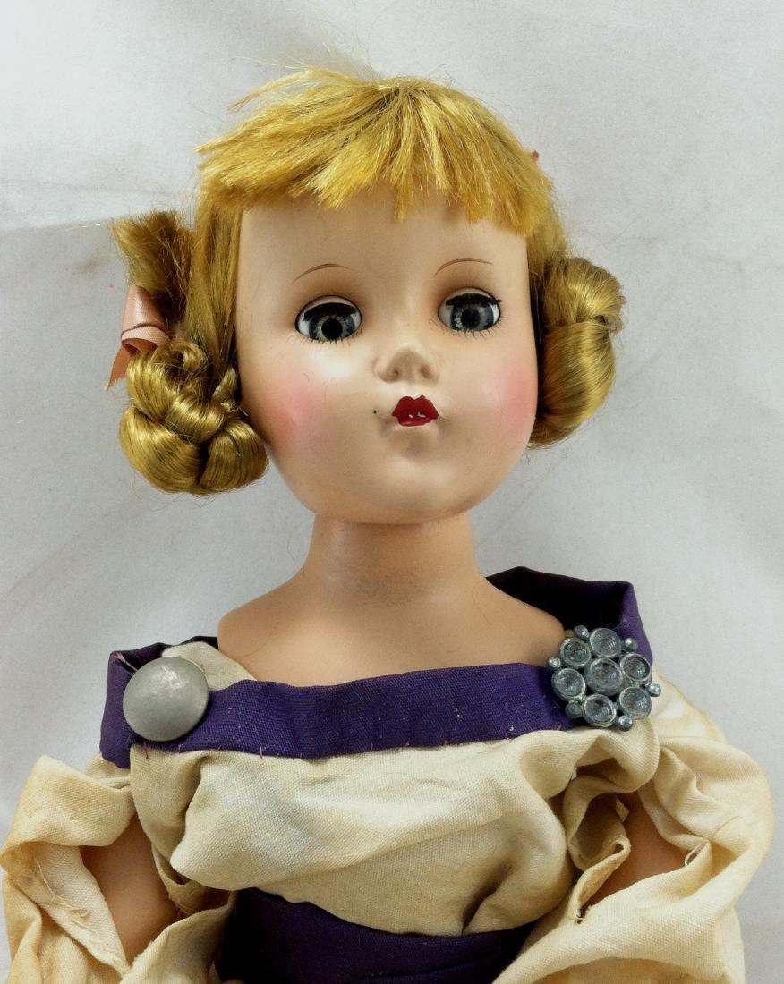 Hard Plastic Doll by R&B - 10