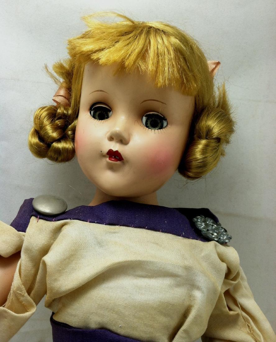 Hard Plastic Doll by R&B - 2