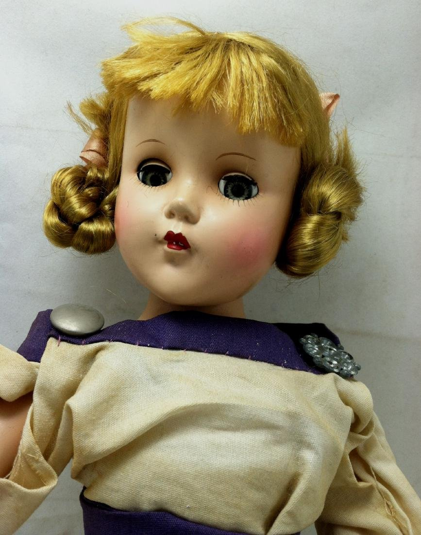 Hard Plastic Doll by R&B - 3