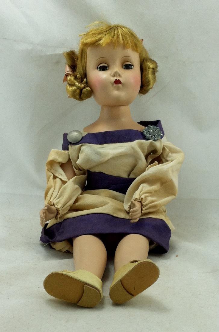 Hard Plastic Doll by R&B - 9