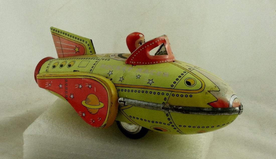 Vtg. Rocket Racer Fristion Toy - 10