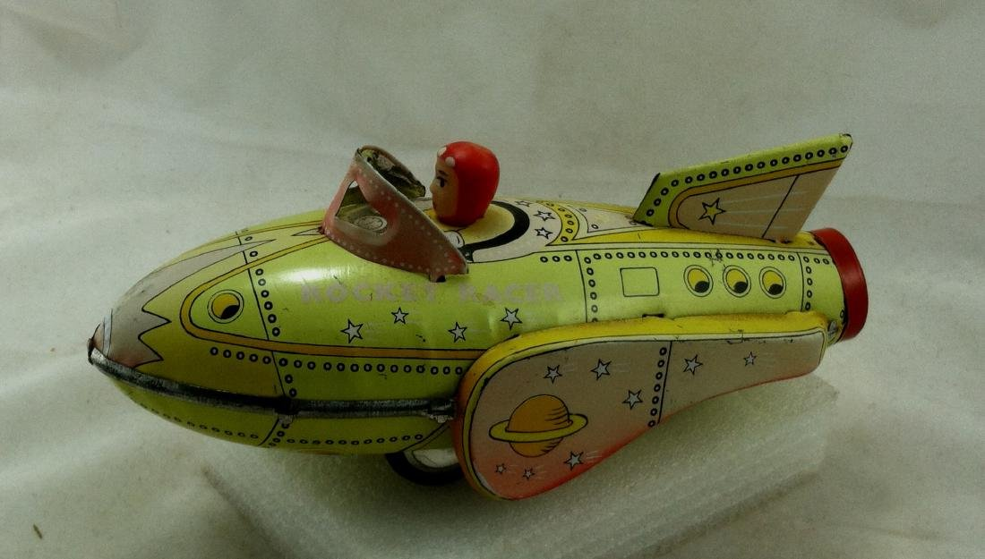 Vtg. Rocket Racer Fristion Toy