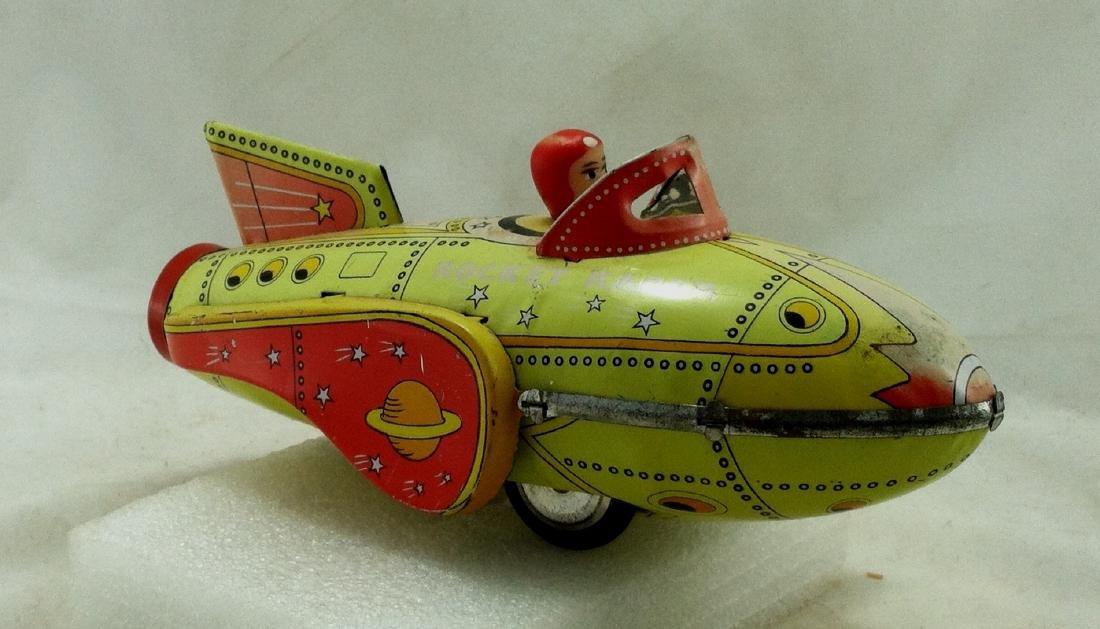 Vtg. Rocket Racer Fristion Toy - 3