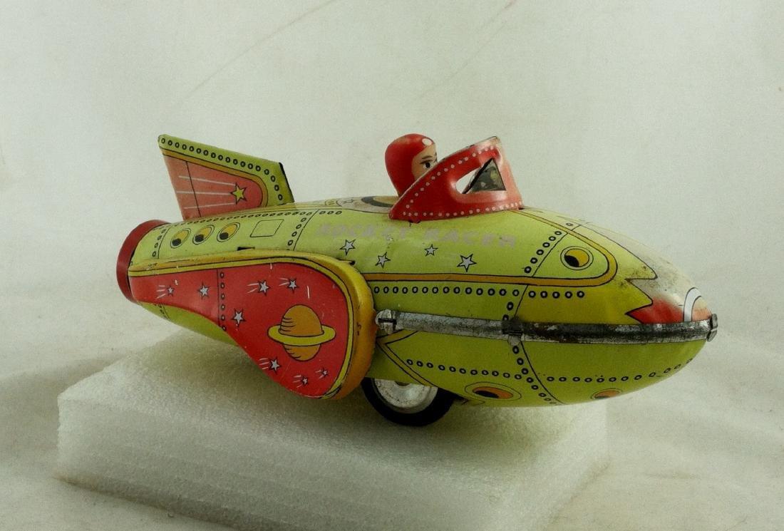 Vtg. Rocket Racer Fristion Toy - 4