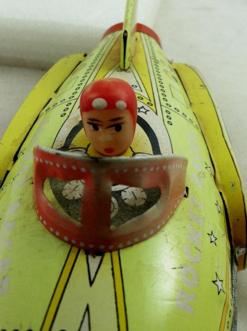 Vtg. Rocket Racer Fristion Toy - 7