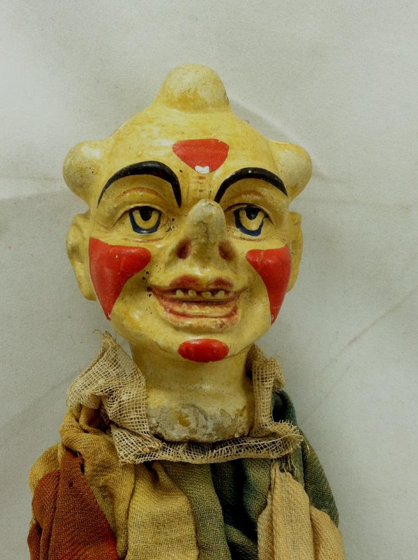 Antique Clown Marionette - 2