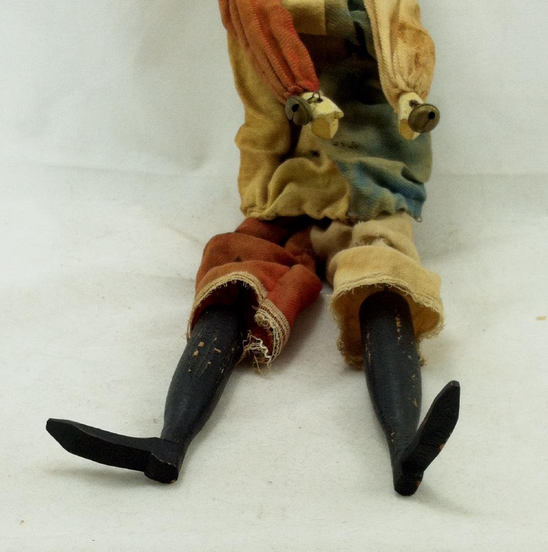 Antique Clown Marionette - 4