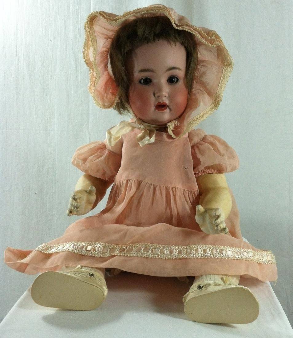 Baby Doll marked Germany Bisque Head 19""