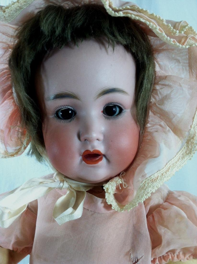 "Baby Doll marked Germany Bisque Head 19"" - 2"