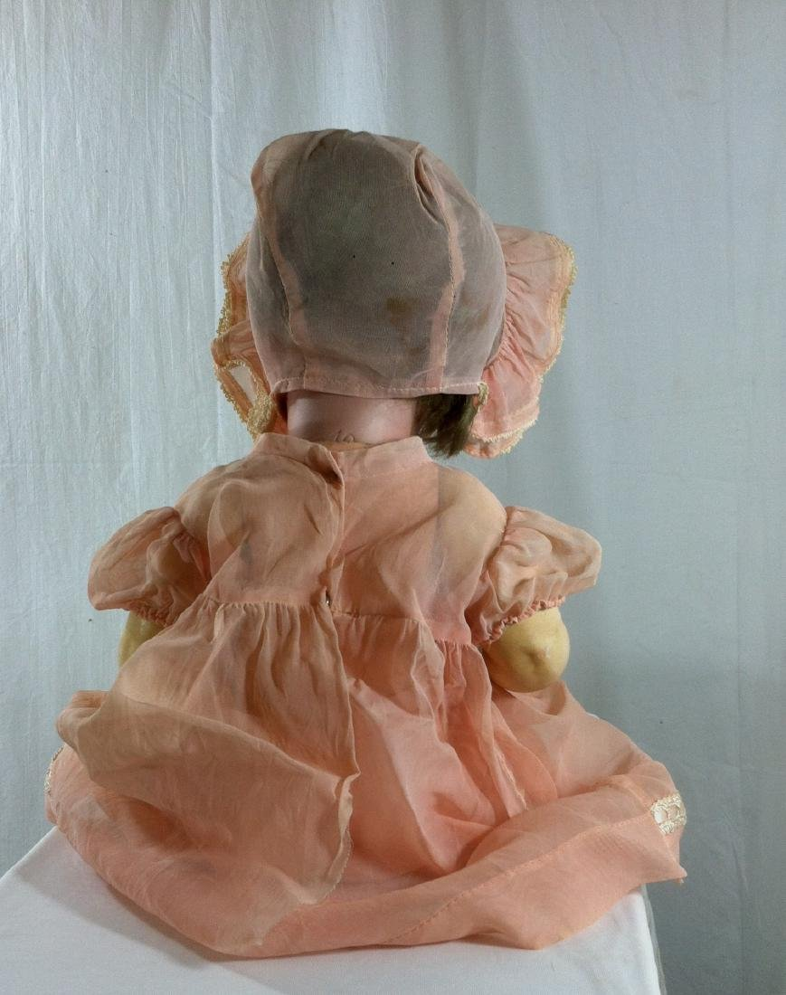 "Baby Doll marked Germany Bisque Head 19"" - 7"