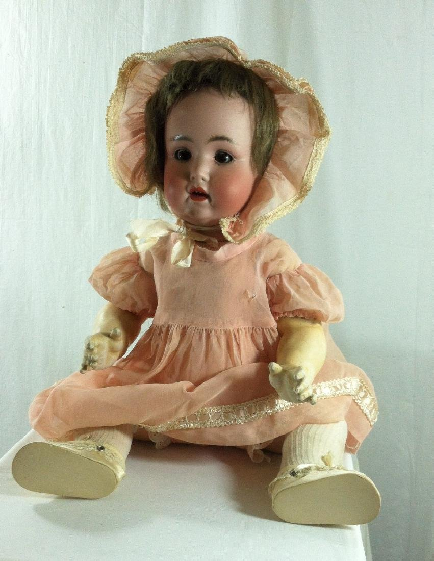 "Baby Doll marked Germany Bisque Head 19"" - 9"