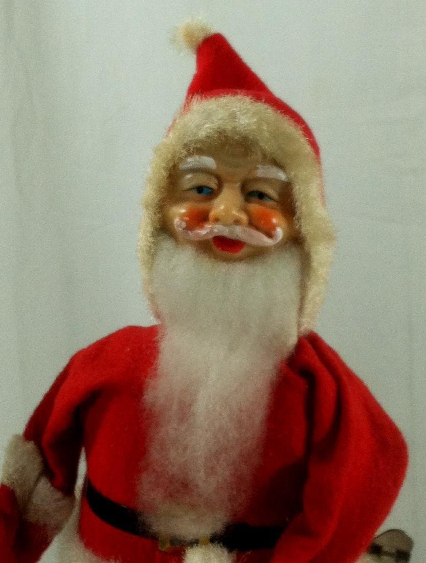 Surprise Santa Claus Wind Up in Original Box. - 2