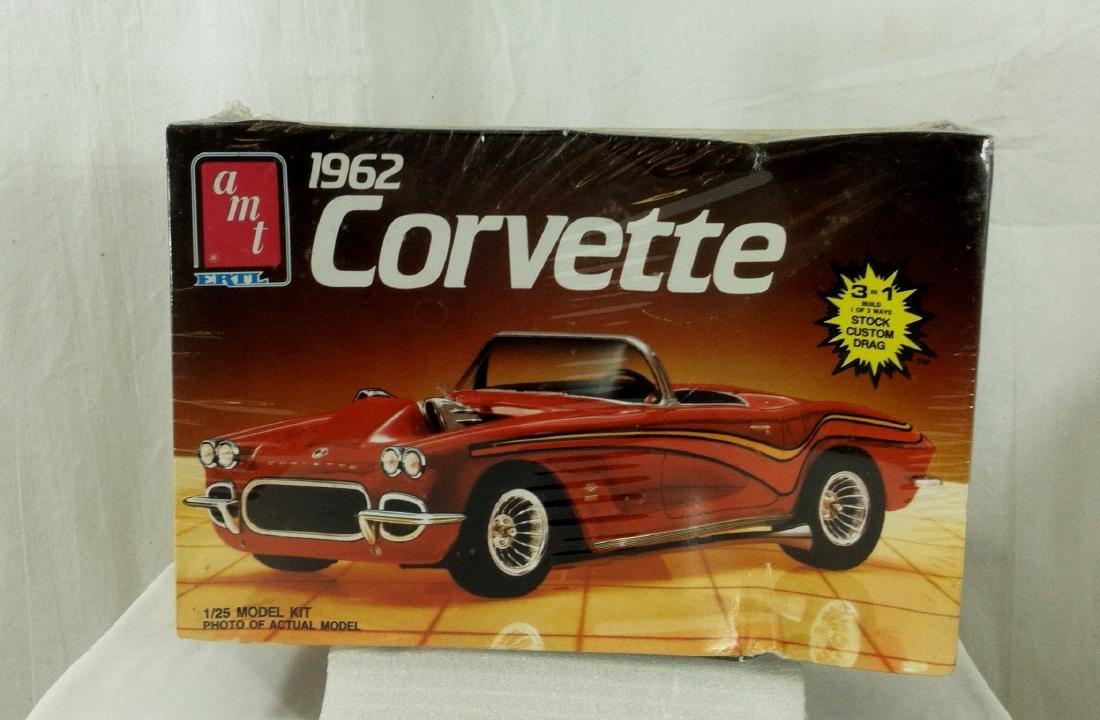 62 Corvette AMT Model Kit Sealed MIB