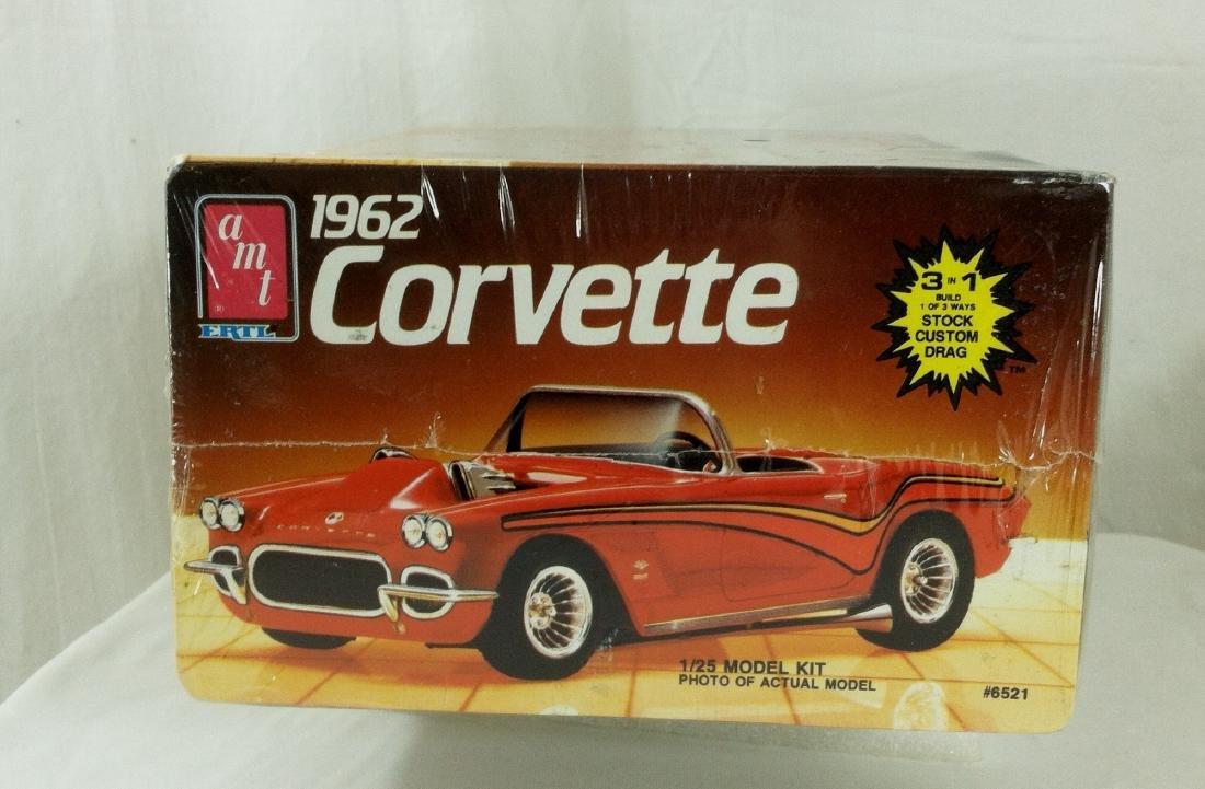 62 Corvette AMT Model Kit Sealed MIB - 2
