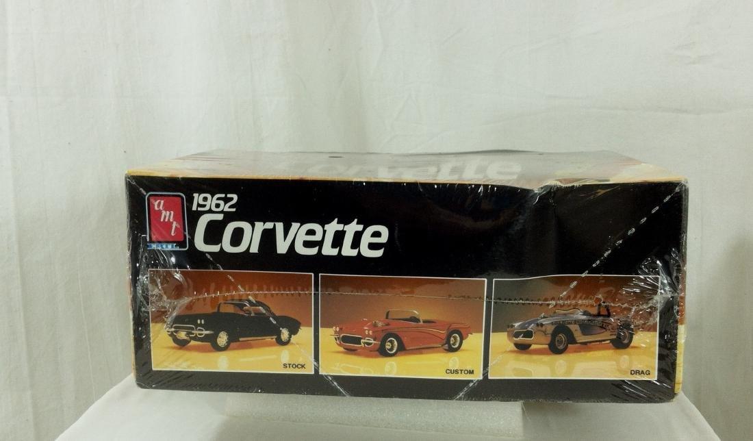 62 Corvette AMT Model Kit Sealed MIB - 3