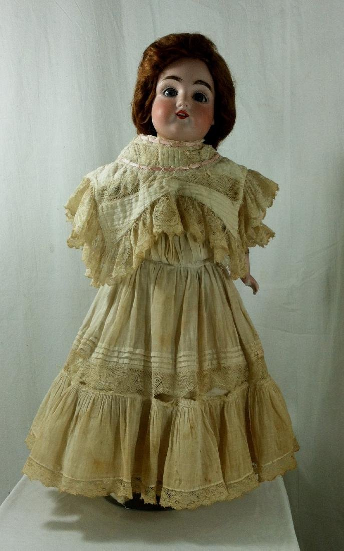 Bisque Head Doll w/ Leather Body