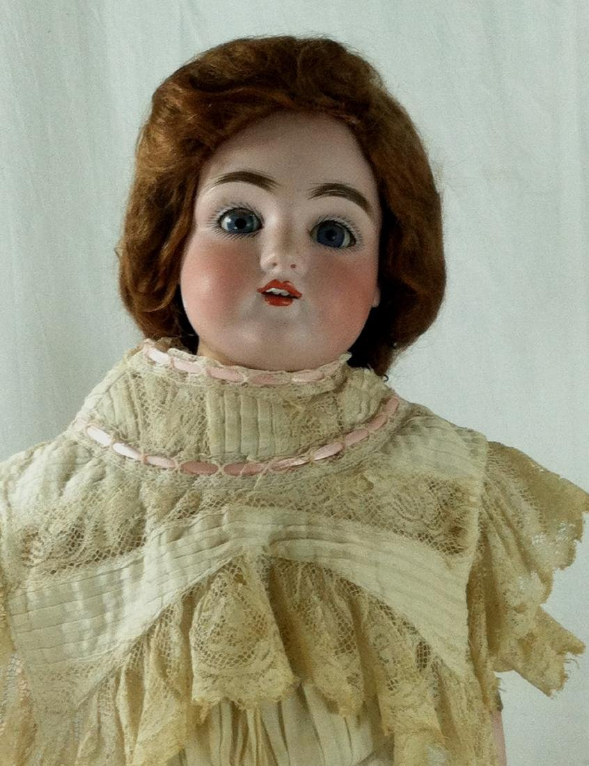 Bisque Head Doll w/ Leather Body - 2