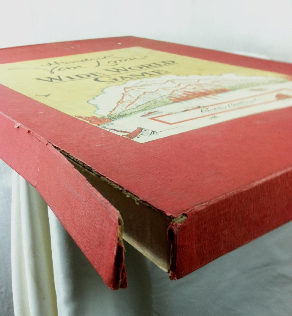 1933 Wide World Board Game from Parker - 6