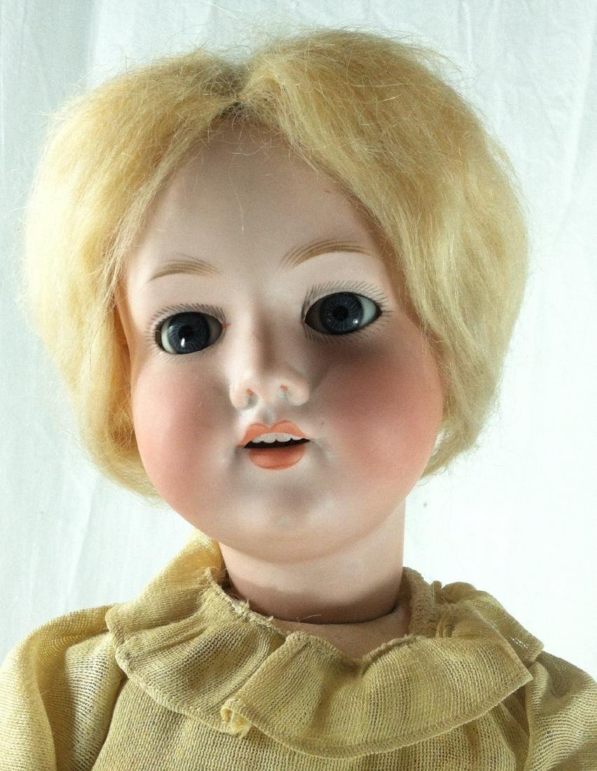 "Bisque Head A&M Doll Germany 390 22"" - 10"