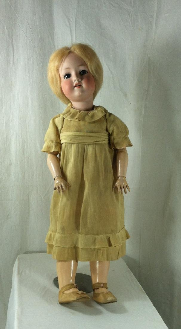 Bisque Head A&M Doll Germany 390 22""