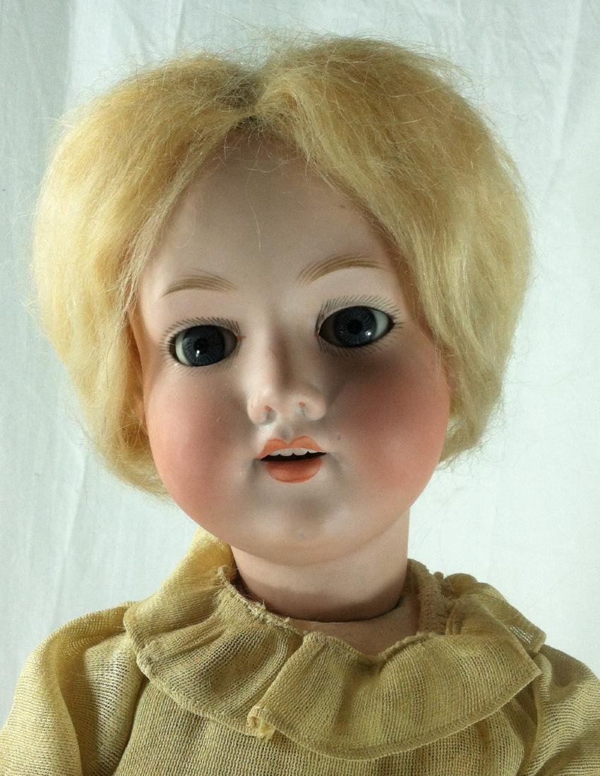 "Bisque Head A&M Doll Germany 390 22"" - 8"