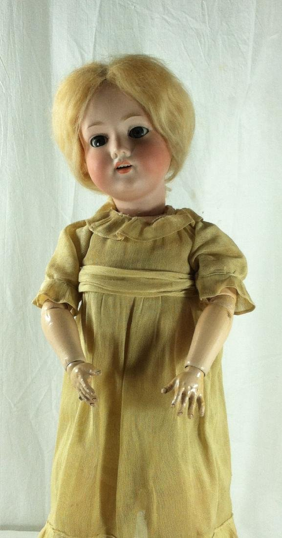 "Bisque Head A&M Doll Germany 390 22"" - 9"