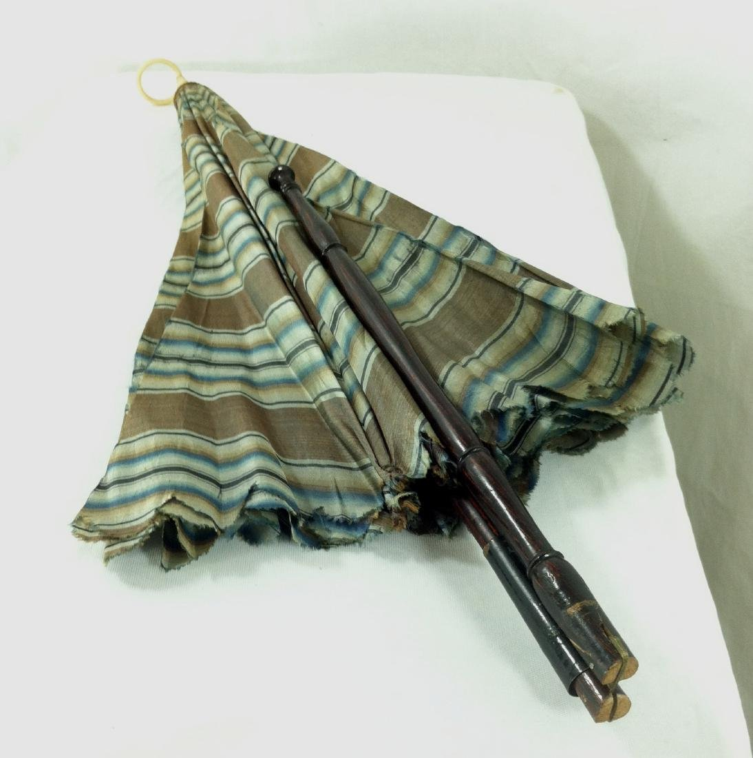 Antique Doll Carriage Parasol - 8