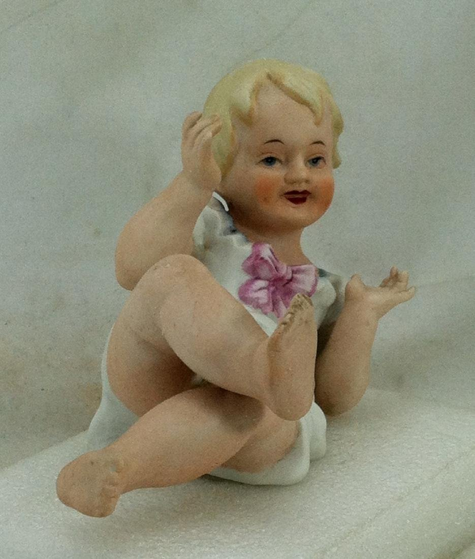 Bisque Girl Piano Baby - 4