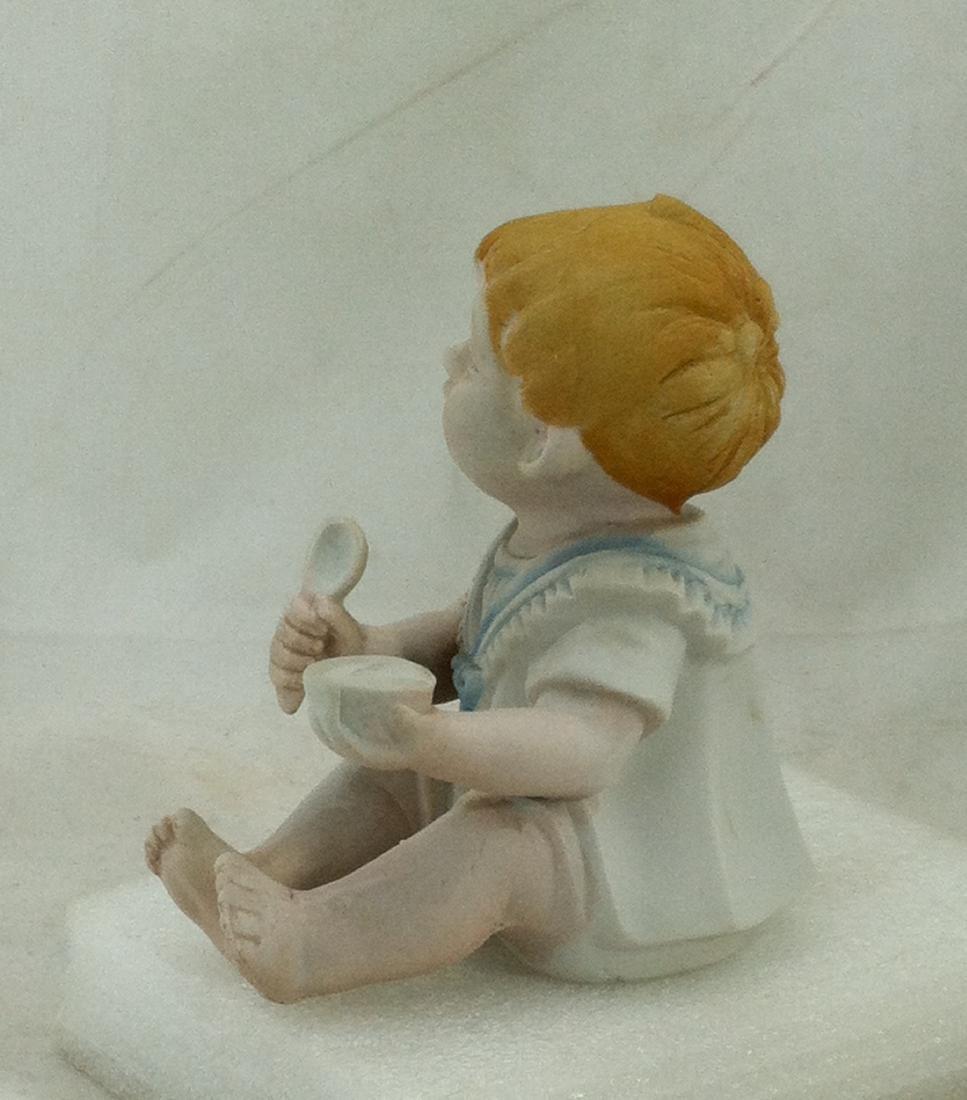 Bisuqe Red-Headed Baby Boy Figurine - 2