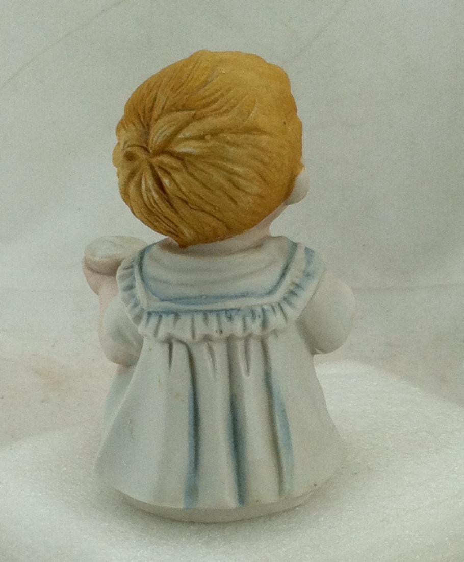 Bisuqe Red-Headed Baby Boy Figurine - 3