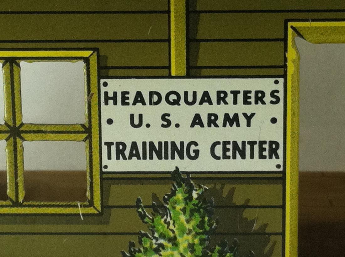 Pressed Steel US Army Headquarters T3-21 - 2