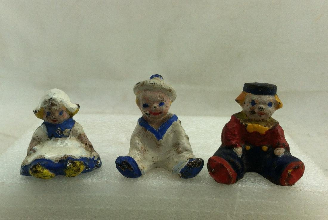 Lot of 5 old  Metal Figures - 3