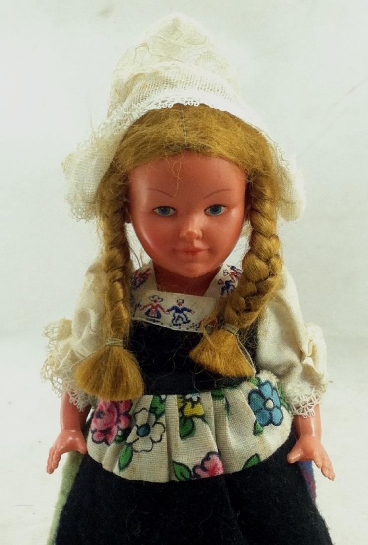 Older European Costume Wind-Up Spinner Doll - 2