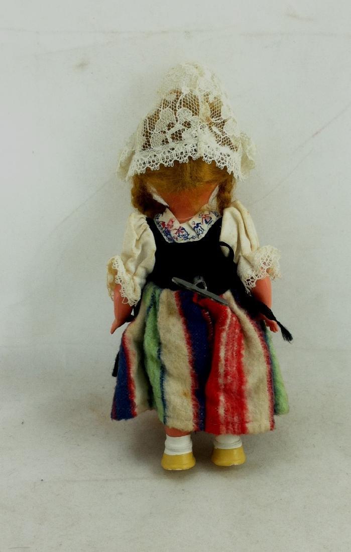 Older European Costume Wind-Up Spinner Doll - 5