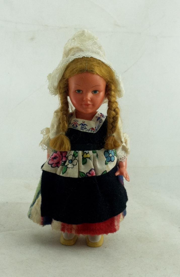 Older European Costume Wind-Up Spinner Doll - 6