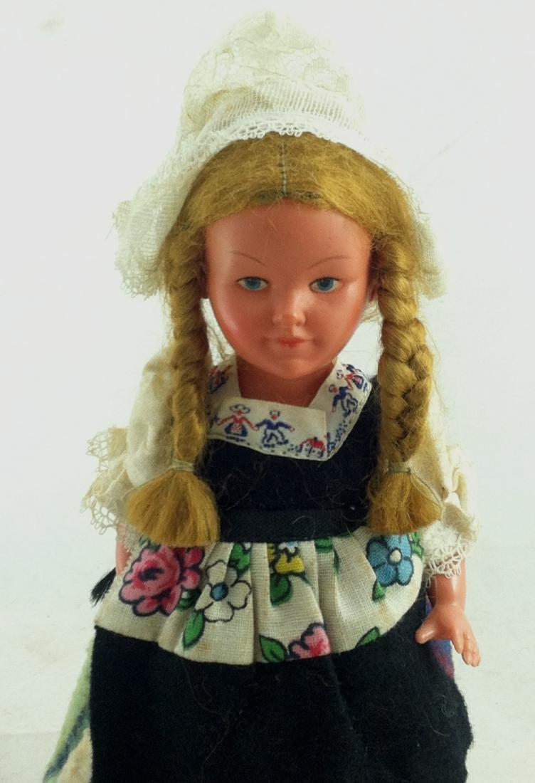Older European Costume Wind-Up Spinner Doll - 7