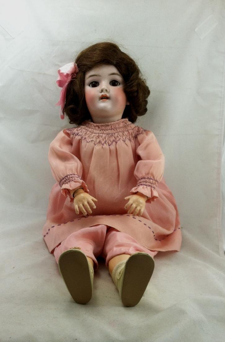 """Antique 20"""" Bisque Head Handwerck Doll"""